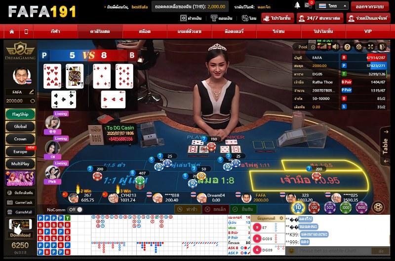 FAFA191 live casino